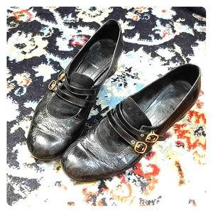 VINTAGE Marc Jacobs Mary Jane's size 38 1/2'